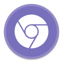 128x128px size png icon of Google Chrome 4