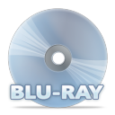 128x128px size png icon of Disc bluray