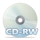 128x128px size png icon of Disc cdrw