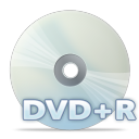 128x128px size png icon of Disc dvdpr