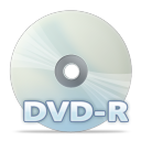 128x128px size png icon of Disc dvdr