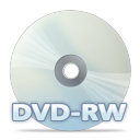 128x128px size png icon of Disc dvdrw