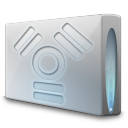 128x128px size png icon of Drive firewire