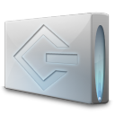 128x128px size png icon of Drive scsi