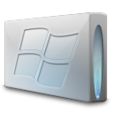 128x128px size png icon of Drive windows