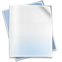 128x128px size png icon of Filetype default
