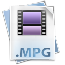 128x128px size png icon of Filetype mpg