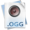 128x128px size png icon of Filetype ogg