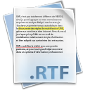 128x128px size png icon of Filetype rtf