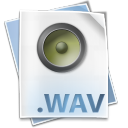 128x128px size png icon of Filetype wav