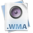 128x128px size png icon of Filetype wma