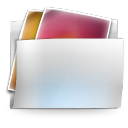 128x128px size png icon of Folder my pictures