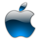 128x128px size png icon of Candy Apple Blue 2