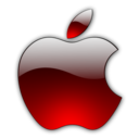 128x128px size png icon of Candy Apple Red 2