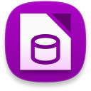 libreoffice base Icon