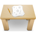 128x128px size png icon of Desk