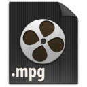 128x128px size png icon of zFileMPG