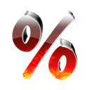128x128px size png icon of 0 Percent