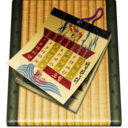 128x128px size png icon of Calendar alt