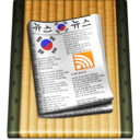 128x128px size png icon of Rss alt