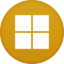 128x128px size png icon of Microsoft