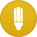 128x128px size png icon of flashlight app
