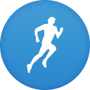 128x128px size png icon of runkeeper