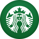 128x128px size png icon of starbucks