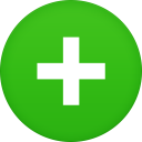 128x128px size png icon of text plus