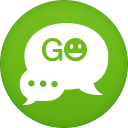128x128px size png icon of go sms