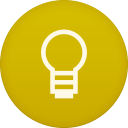 128x128px size png icon of google keep