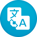 128x128px size png icon of google translate