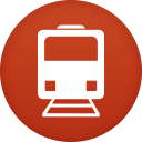 128x128px size png icon of public transport