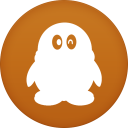 128x128px size png icon of qq