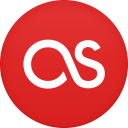 128x128px size png icon of last fm