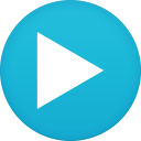 128x128px size png icon of mx player