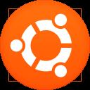 128x128px size png icon of ubuntu
