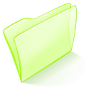 128x128px size png icon of folder green normal