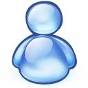 128x128px size png icon of software crystal msn