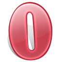 128x128px size png icon of software opera