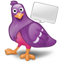 128x128px size png icon of software pidgin