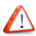 128x128px size png icon of system attention
