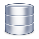 128x128px size png icon of system database