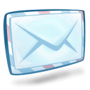 128x128px size png icon of system mail
