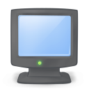 128x128px size png icon of system monitor