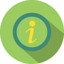 128x128px size png icon of Problem info