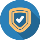 128x128px size png icon of Shield 2