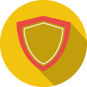 128x128px size png icon of Shield