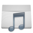 Music Concave Light Icon
