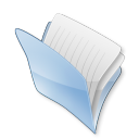 128x128px size png icon of Dossier cache